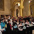 VILLENEUVE : Un grand concert <b>choral</b> en l'église Saint-Étienne le dimanche 24 mars à 18 heures