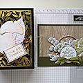 Atelier Boîte Loyal <b>leaves</b> et Carte Emotions effeuillées