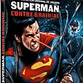 Superman contre brainiac sur france 4