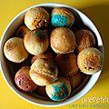 Cake balls surprises aux m&m's