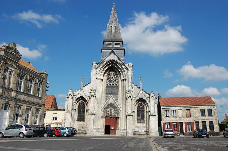 l'église l'immaculée conception place de la ghière