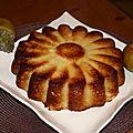 Le fameux gâteau invisible aux pommes...