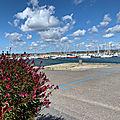 Balade sur le port à Camaret-sur-Mer en août 2020