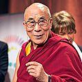 Tenzin Gyatso, le dernier <b>dalaï</b>-<b>lama</b> du Tibet ?