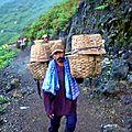 Porteurs de souffre Volcan Kawa Ijen - Java