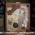 Carte style steampunk