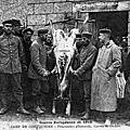 Le <b>camp</b> de prisonniers allemands à Coëtquidan