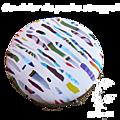 Cendrier de poche ou pillulier ou boite à bonbons, très coloré