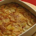 Clafoutis ananas-banane-cannelle