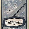 Carte <b>Triangles</b> et Flocons