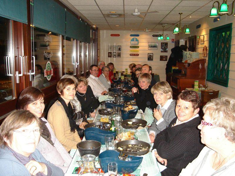 Diner de Noel CréA'telier Ste Gemmes 2009