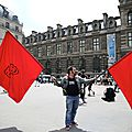 Les intermittents du spectacle manifestent !