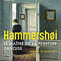 <b>Hammershøi</b>, le maître de la peinture danoise, au Musée Jacquemart-André