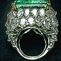 The <b>Chalk</b> emerald ring