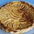 Tarte aux pommes à l' alsacienne