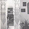 Inspiration ... portières, poteries et suspensions