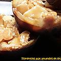<b>Florentins</b> aux amandes et oranges confites