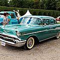 Chevrolet bel-air 4door sedan de 1957 (9ème classic gala de schwetzingen 2011)