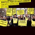 Manifeste des droits humains. constats et perspectives 2011-2012