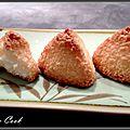 Rochers à la noix de coco (ou congolais)