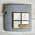 Création avec la Capsule de Janvier <b>Florilèges</b> <b>Design</b> & carte