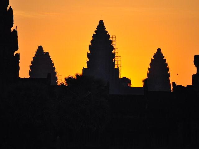 Angkor Wat le matin