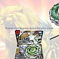 BB-106 Toupie Takara Beyblade Metal Fury <b>4D</b> System Fang Leone 130W2D BB -106 スターター ファングレオーネ130W2D: - Beyblade Shop