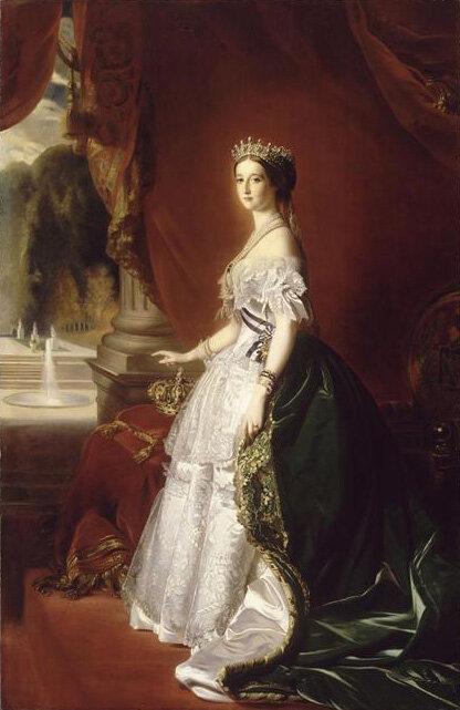 1853 - Portrait de l'impératrice Eugénie