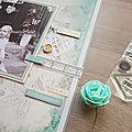 Page Je t'aime jusqu'aux étoiles par Amélie - Collection Parfum de roses - Lorelaï design