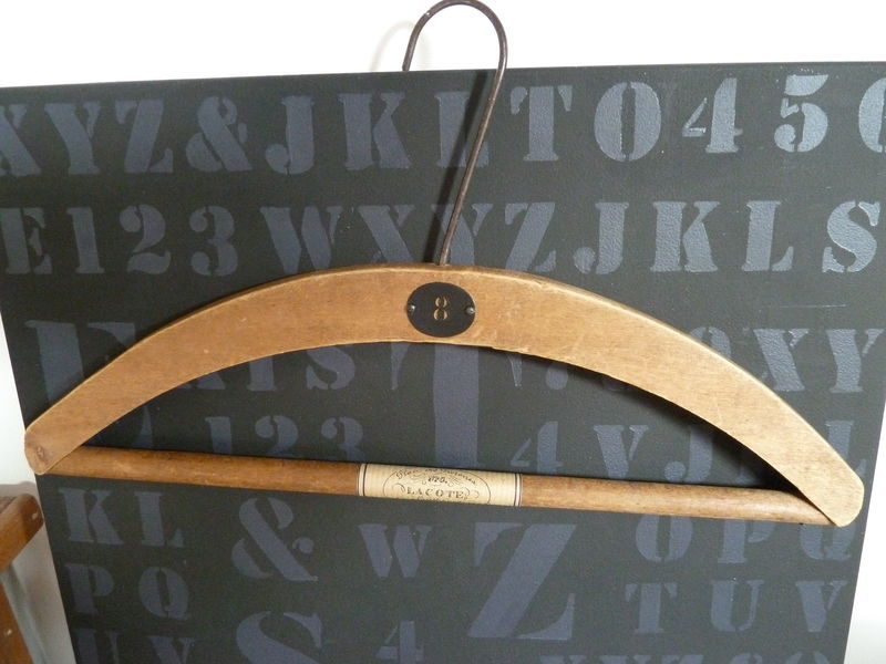 vieux cintre customisé