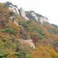 Coree du sud - seoul - bukhansan - les couleurs de l'automne