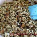 Tarte à la confiture de nèfles et aux fruits secs