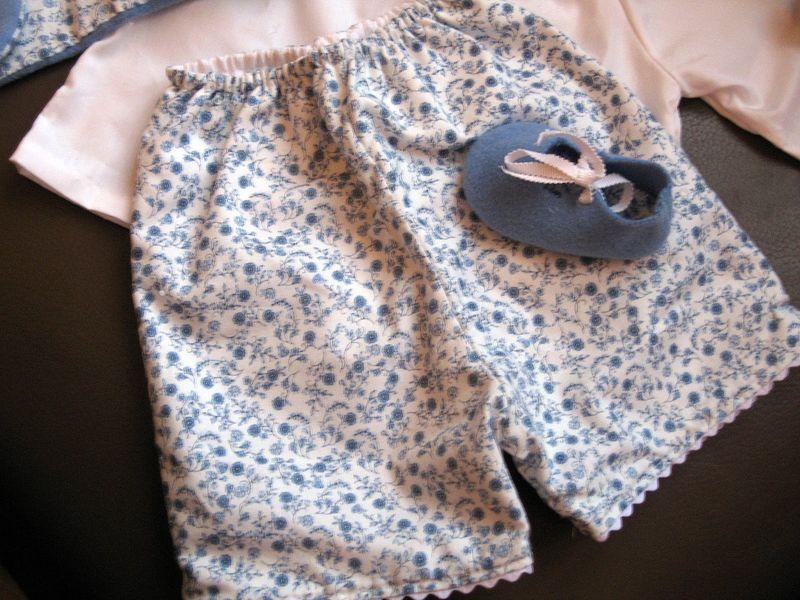Pantalon fleurs