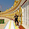Colline de Sagaing - Mandalay