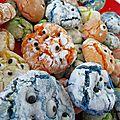 Macaron monstrueux (crinkles monster)