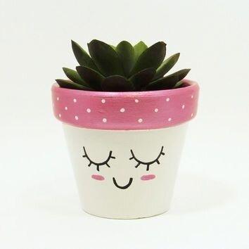 DIY - fete des meres - ado - pot plante customisé 1