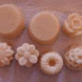 Bonbons exfoliants au sucre, monoï - vanille