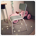 Vendue • chaise d'école vintage pour enfant •
