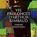 Vie prolongée d'arthur rimbaud, thierry beinstingel ~ rentrée littéraire 2016