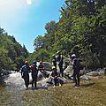 955 - Randonnée aquatique Haute Dourbie, le 11 juillet 2015