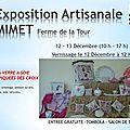 Une expo et le village de mimet