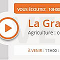 Agriculture : Dfam <b>communique</b> contre l'agribashing ? Ecouter la Grande Emission RCF Allier Interview Juliette Moyer Merci !