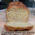 Cake de thon au pesto