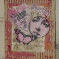 Mes mail-art cartonnés