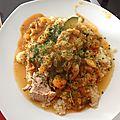 Couscous poulet et légumes