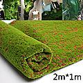 Le tapis d'herbe réaliste
