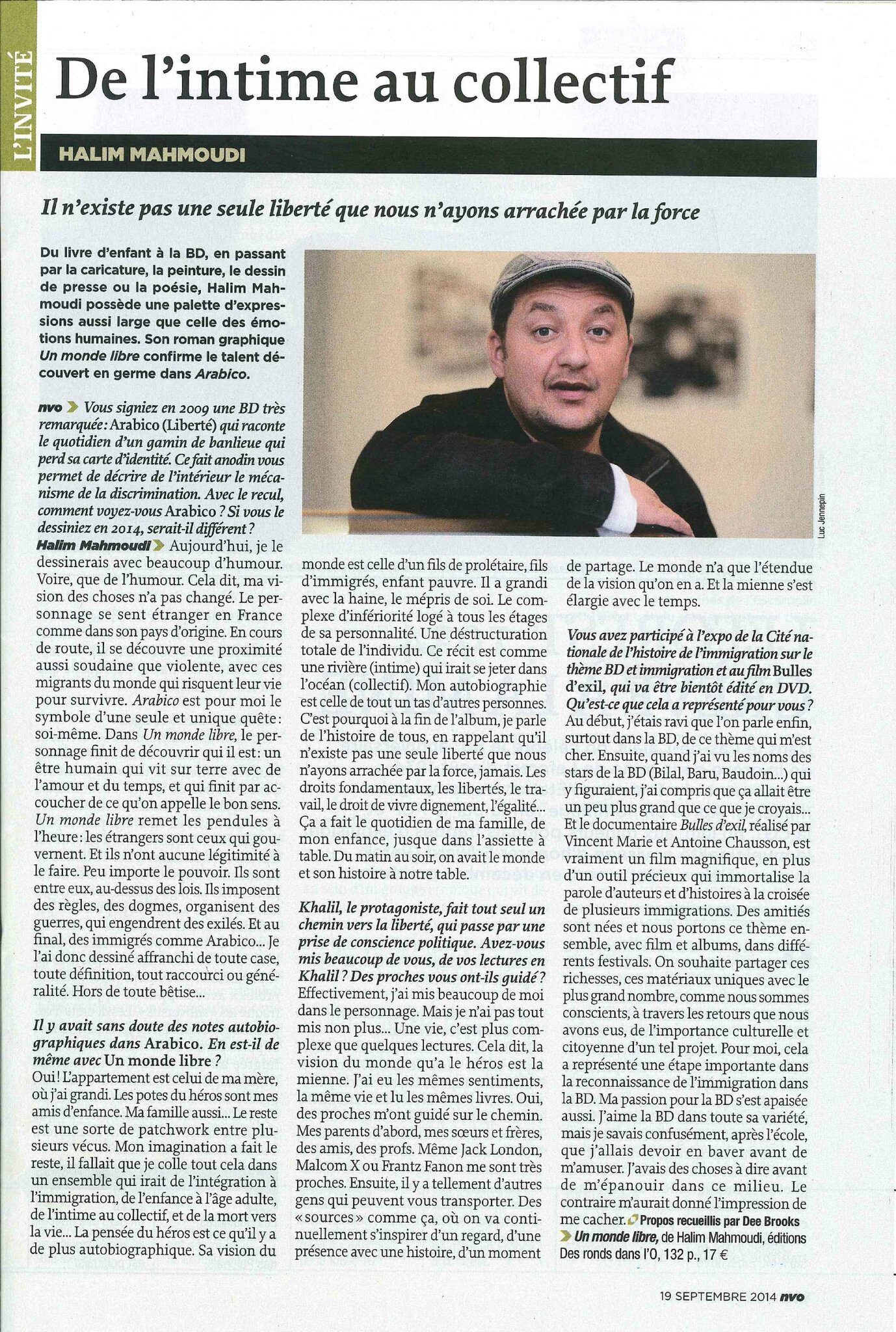 interview NVO Mag