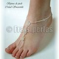 bijoux pieds cristal copy