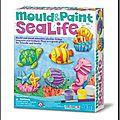 4m – magnets à mouler et peindre vie marine – a partir de 5 ans