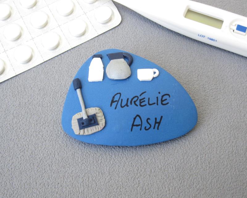 Badge prénom ASH